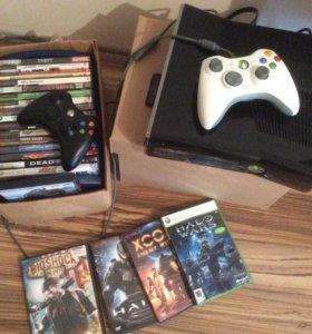 Xbox360 250g, lt3,0 + Фрибут + кинект