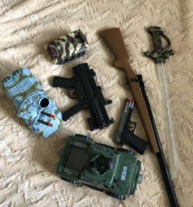 Танки оружие игрушки для мальчика