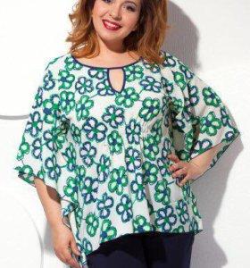 Новая 56-60 р-р универсал блуза
