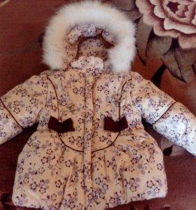 Зимний комплект на малышку
