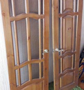 2 двери межкомнатные