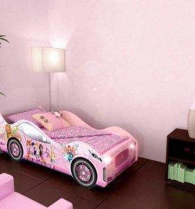 Кровать-машина с матрацом