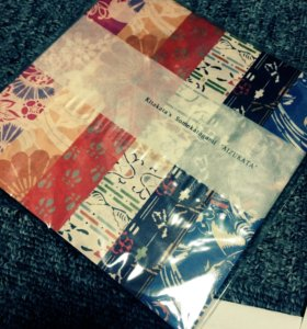 Бумага для оригами с авторским рисунком