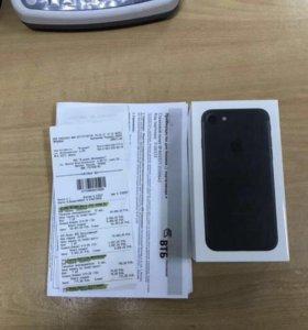 iPhone 7 128 gb матовый