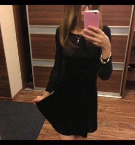 Платье,бархат