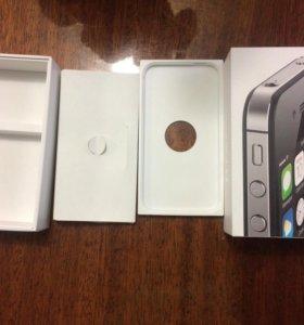 Коробка айфон 4s