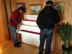 Оперативная перевозка пианино, мебели, сейфов.