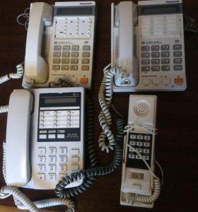 телефоны с трубкой 3 шт