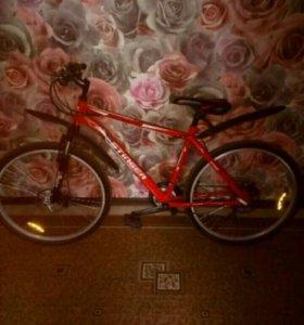 Велосипед горный скоростной Stinger Aragon 220d