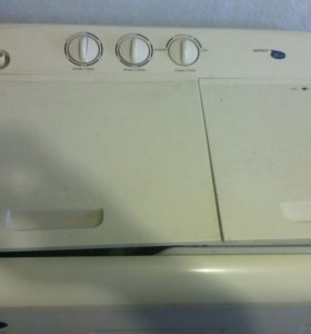 Стиральная машинка полуавтомат