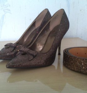 Туфли и ремень