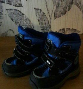 зимние ботинки на мальчика kapika