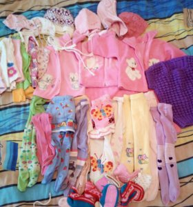 Одежда для девочек 0-10 мес