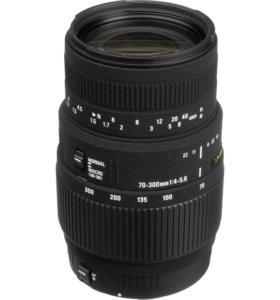 Обьектив Sigma 70-300 1:4-5.6 Canon