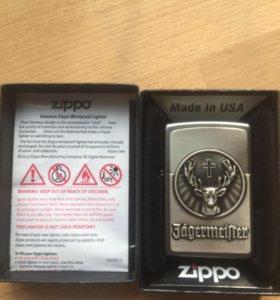Зажигалка zippo Jagermeister коллекционная