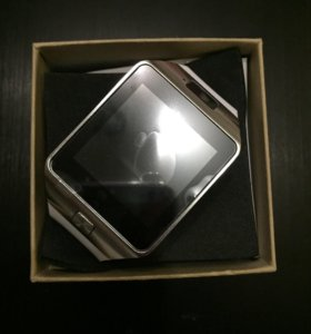 Часы смарт smart watch dz09 белые