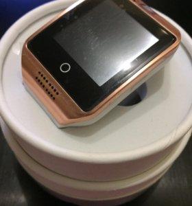 Q18 gold smart часы новые