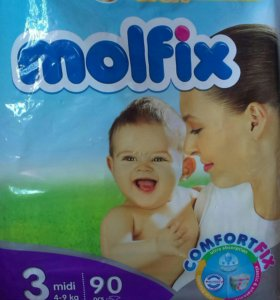 Подгузники Molfix 4-9 кг