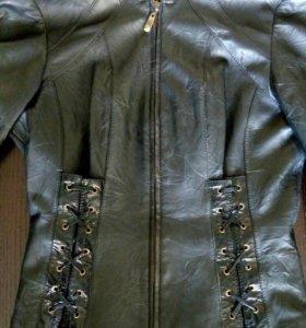 Куртка-корсет натуральная кожа 42-44