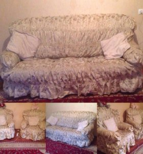 Диван и кресла , торг уместен