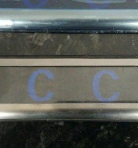 Пороги на VW PASSAT CC