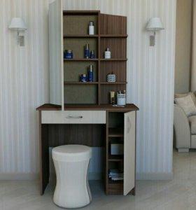 Туалетный стол MonaLi 2, макияжный, трюмо
