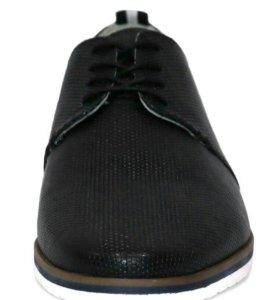 Мужские ботинки из натуральной кожи.