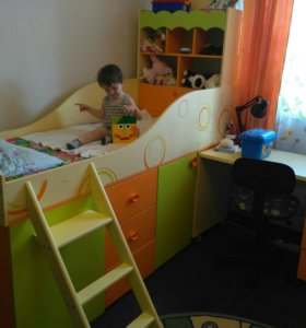 """Детская модульная кровать """"Фруттис"""""""