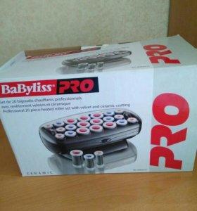 Электробигуди Bayliss Pro с зажимами.