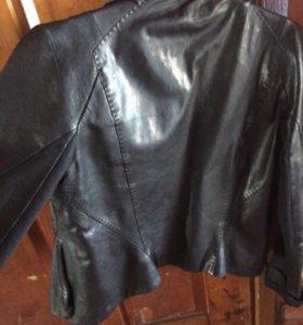 Куртка кожаная PUCCI