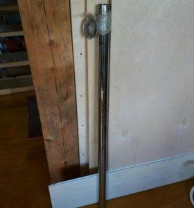 Барная нога 120 см с крепежом