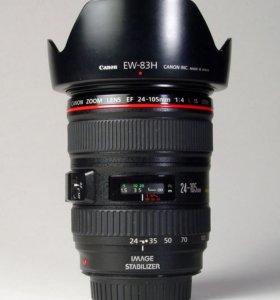Canon 24-105 f4 L до конца недели 22тр