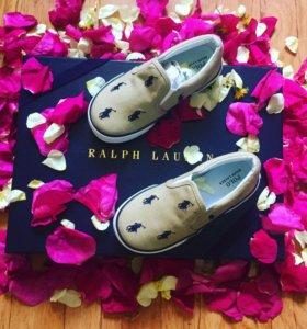 Ralph Lauren слипоны детские