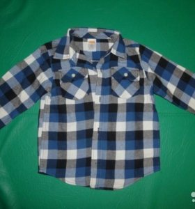 Байковая рубашечка GYMBOREE