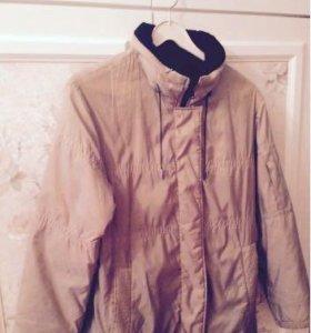 Куртка/ветровка luhta утеплённая