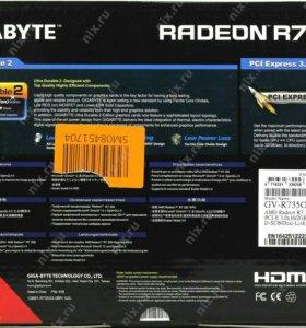 Видеокарта Gigabyte Radeon r7 350