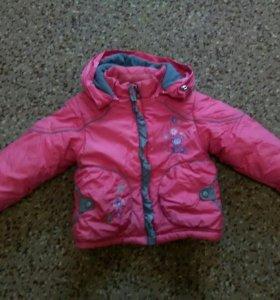 Куртка зима-осень внутренним мехом штаны теплые