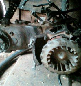 Двигатель от хонды такт аф24