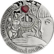 Монета серебро Алиса