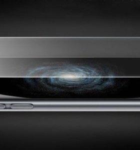 Защитное стекло на iPhone 6/6s/6+, 7/7+