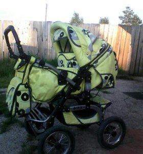Продам коляску трансформер в хорошом состояние