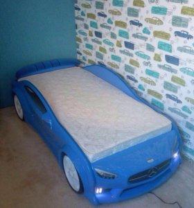 Детская кровать машина объёмная