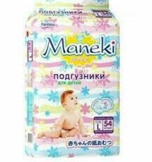 Подгузники-Трусики Maneki