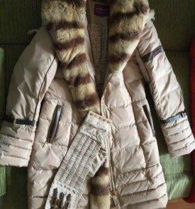 Пуховик зимний 48-50