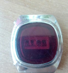 Часы СССР электроника 1 терминатор