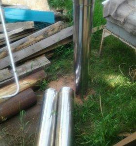 Труба нержавейка 3 шт 1000 за шт 150 мм на 1м