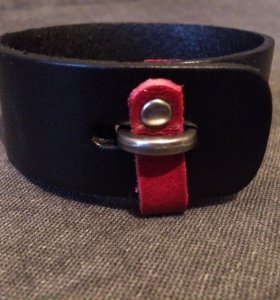 Стильный кожаный браслет