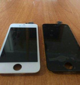 Экран iphone 5 / 5s/ 5c белый и черный
