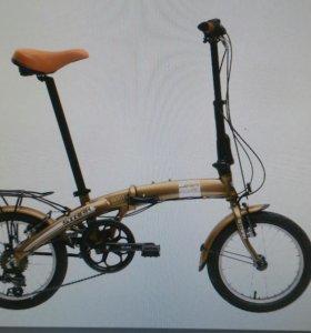 Велосипед stark jam складной новый
