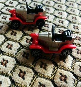 Киндеры 90-х гг. Старинные автомобили
